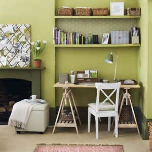 Home Office Ideas Green Green Home Office Home Office Design Ideas Image