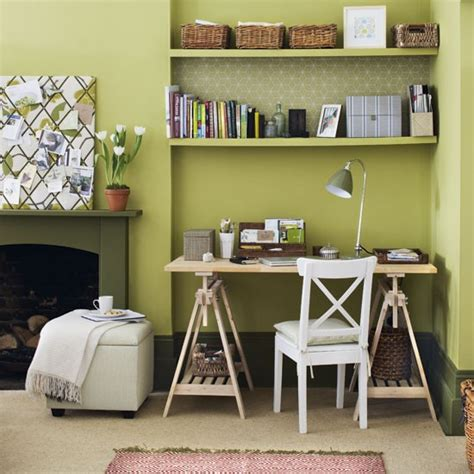 home office ideas that really work housetohome co uk green home office home office design ideas image