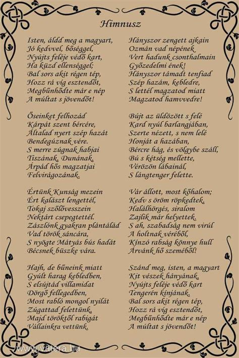Magyar Himnusz | search and google on pinterest
