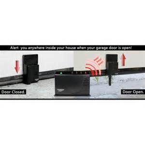 Garage Door Open Warning Garage Door Monitor Alert Alarm Kit Gm 434rtl Be Notified Of Your Surroundings Garage Door