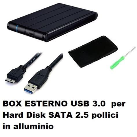 box per disk interno box esterno usb 3 0 per disk sata 2 5 pollici