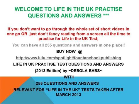 quiz questions youtube life in the uk test questions and answers video 7 youtube
