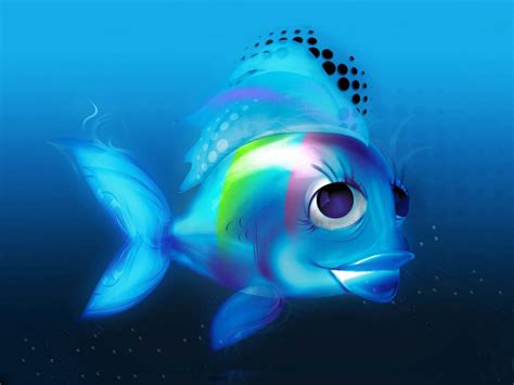 free 3d wallpapers 3d fish wallpapers