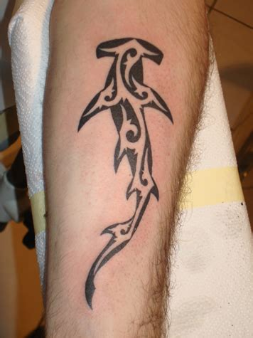 tribal hammerhead tattoo 45 best hammerhead shark tattoos ideas