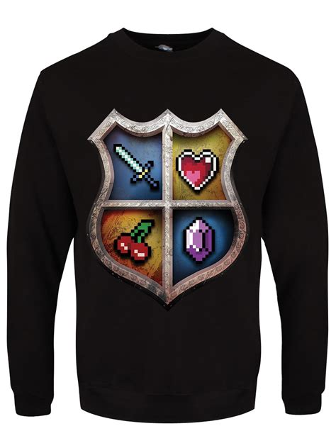 Sweater Gamer 6 Gamer Crest S Black Sweater Buy At Grindstore