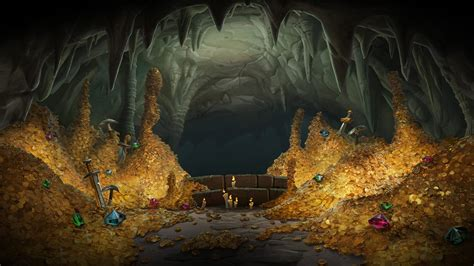 gold backgrounds wallpaper cave kobolds and catacombs wallpapers high quality w mobile