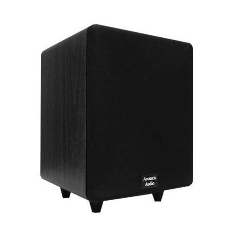 acoustic audio cinema cs ps   watt  powered