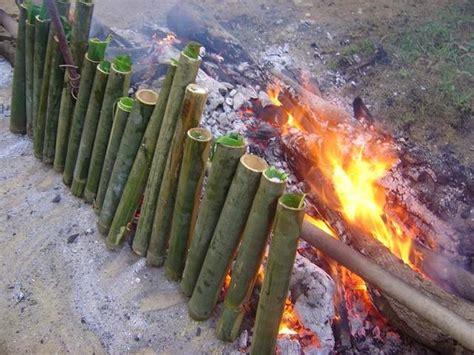 cara buat nasi bakar bambu nasi lemang 187 perpustakaan digital budaya indonesia
