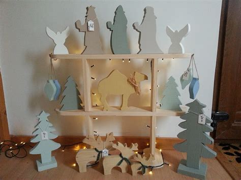 6 sallys home made crafts wooden christmas decorations