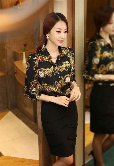 Kemeja Korean Import 10 kemeja wanita korea terkini toko jual baju wanita import murah eveshopashop