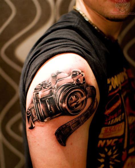 camera tattoos theme