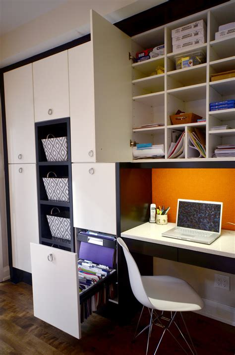 asian filing cabinets with black bookshelves home office