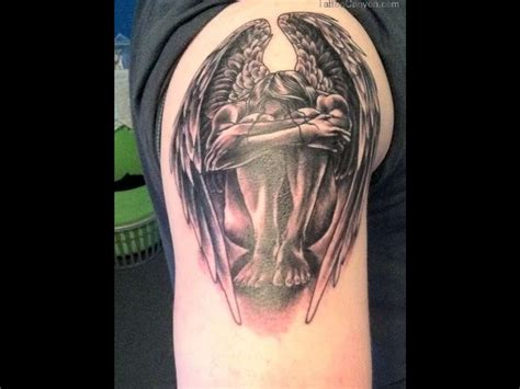 male angel tattoo designs mens designs tattoos for design