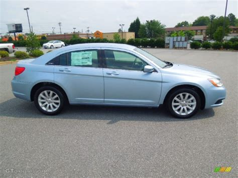 Pictures Of 2013 Chrysler 200 by Blue Pearl 2013 Chrysler 200 Touring Sedan