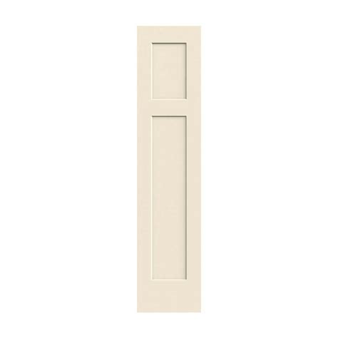 Jeld Wen 18 In X 80 In Molded Smooth 3 Panel Craftsman White Moulded Interior Doors