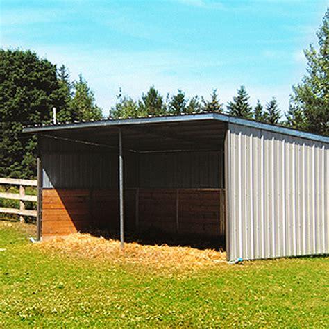 run  shelter frame ramm horse fencing stalls