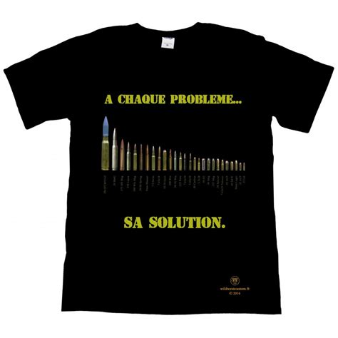 T Shirt Is Solution Y t shirt a chaque probl 232 me sa solution west custom