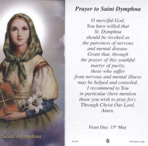 prayer to st prayer to st dymphna prayers