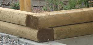 Landscape Timbers Corners 3x5 Landscape Timber Retaining Wall How To Clean Outdoor