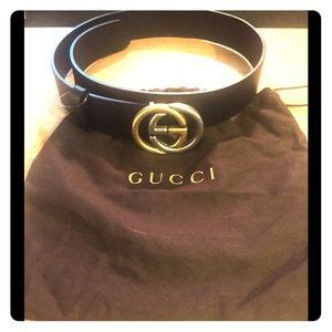Gucci Belt Green Canvas W Interlocking G Buckle Real 11 Quality 39 gucci accessories authentic suede belt wit