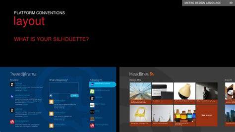 Microsoft Metro Design Metro Design Language
