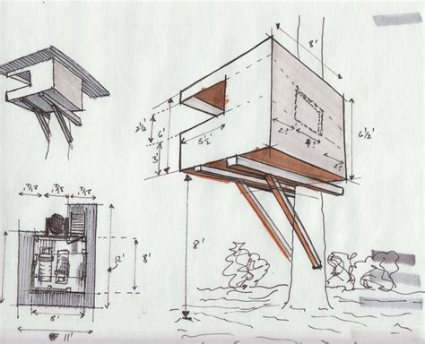 tree house floor plans numberedtype tree house building plans