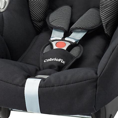 cabriofix baby car seat buy maxi cosi cabriofix 0 baby car seat black