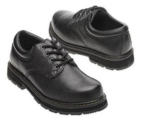 dr scholl s work s slip resistant leather work shoes