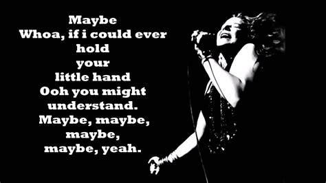 janis joplin  lyrics youtube