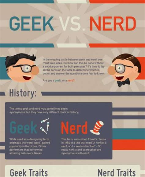 the difference between nerds and geeks stew social stereotype battles vs