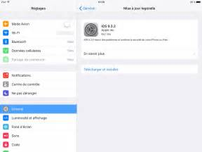 ios 9 3 2 mise 224 jour disponible pour iphone ipad ipod