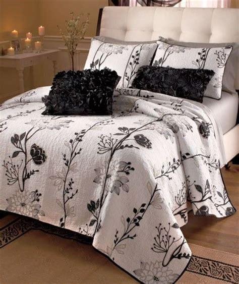 full size white comforter cassandra black white floral quilt comforter bedding set