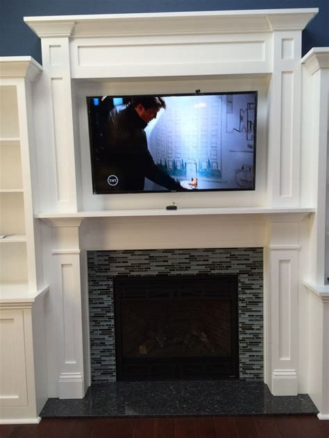 Blue Mantle Fireplaces by Heatilator Gas Fireplace Nnxt Surround In Blue Pearl