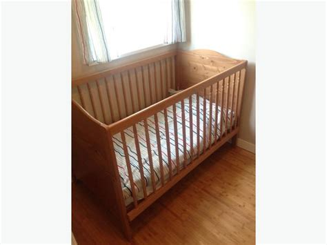 Ikea Convertible Crib Ikea Convertible Crib Toddler Bed Saanich