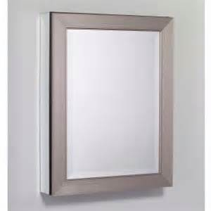 medicine cabinet brushed nickel robern metallique cabinet brushed nickel mt24d4mdbn