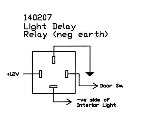 interior light delay relay