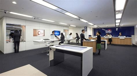 Citibank Office by Brandchannel Citibank Overhauls Branches With Smaller