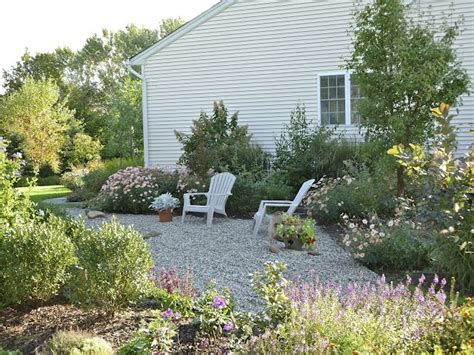 Pea Gravel Garden Ideas Pea Gravel Garden Backyard