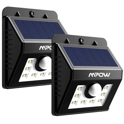 eclairage exterieur solaire avec detecteur applique exterieur