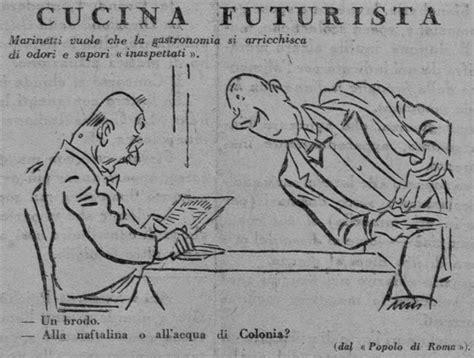 manifesto cucina futurista cucina futurista