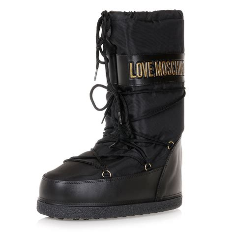 moschino snow boots moschino moschino snow boots spence outlet