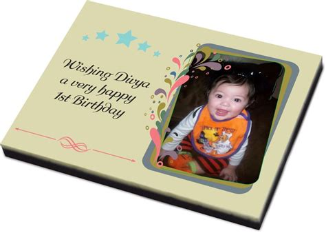 creative birthday gifts 1st birthday largest size bar