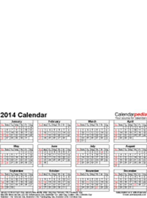 2014 Calendar Printable Word Format Photo Calendar 2014 Free Printable Word Templates