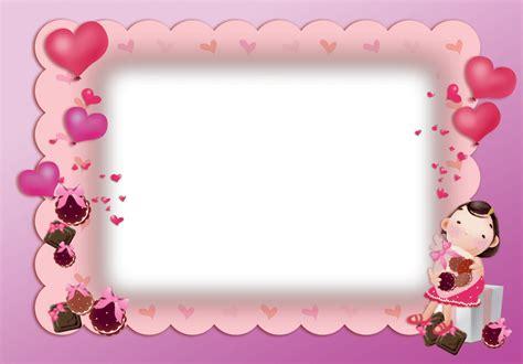 poner imagenes en png online marco bonito de color rosa para san valentin descargar