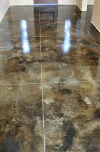 concrete floor stain colors stained concrete floors for the home