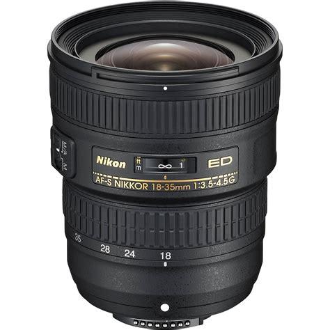 nikon af s nikkor 18 35mm f 3 5 4 5g ed lens 2207 b h photo