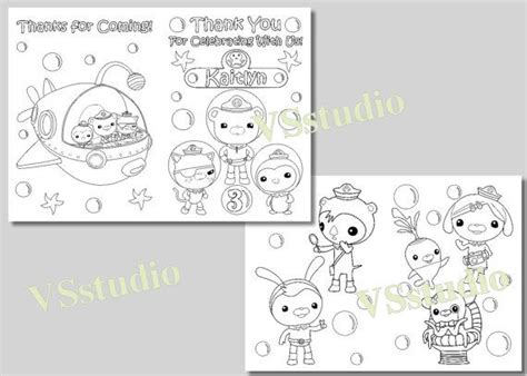 octonauts coloring pages pdf 119 best images about kids birthday party on pinterest