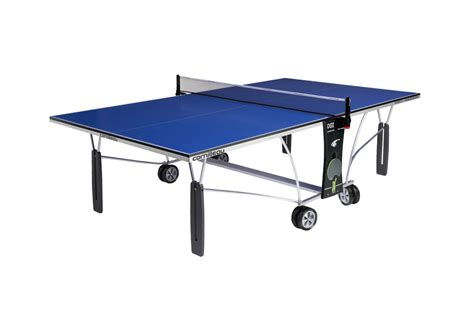cornilleau 250m blue outdoor ping pong table