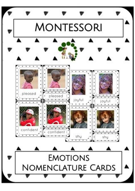 montessori printables emotions 17 best images about montessori activities for