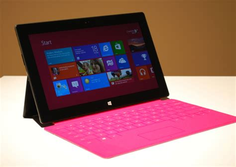 Microsoft Surface Rt on with microsoft surface tablet for windows rt gadget lab wired